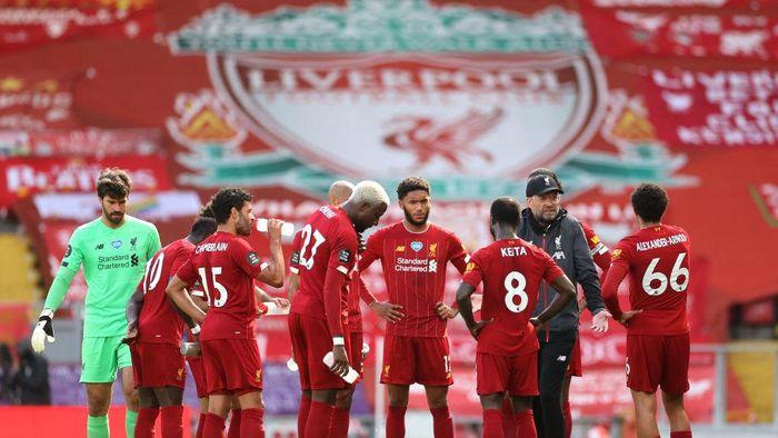 Liverpool Vs Burnley: Si Merah Ditunggu Rekor Kandang