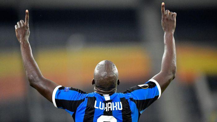 Romelu Lukaku Tampak Bahagia di Inter Milan