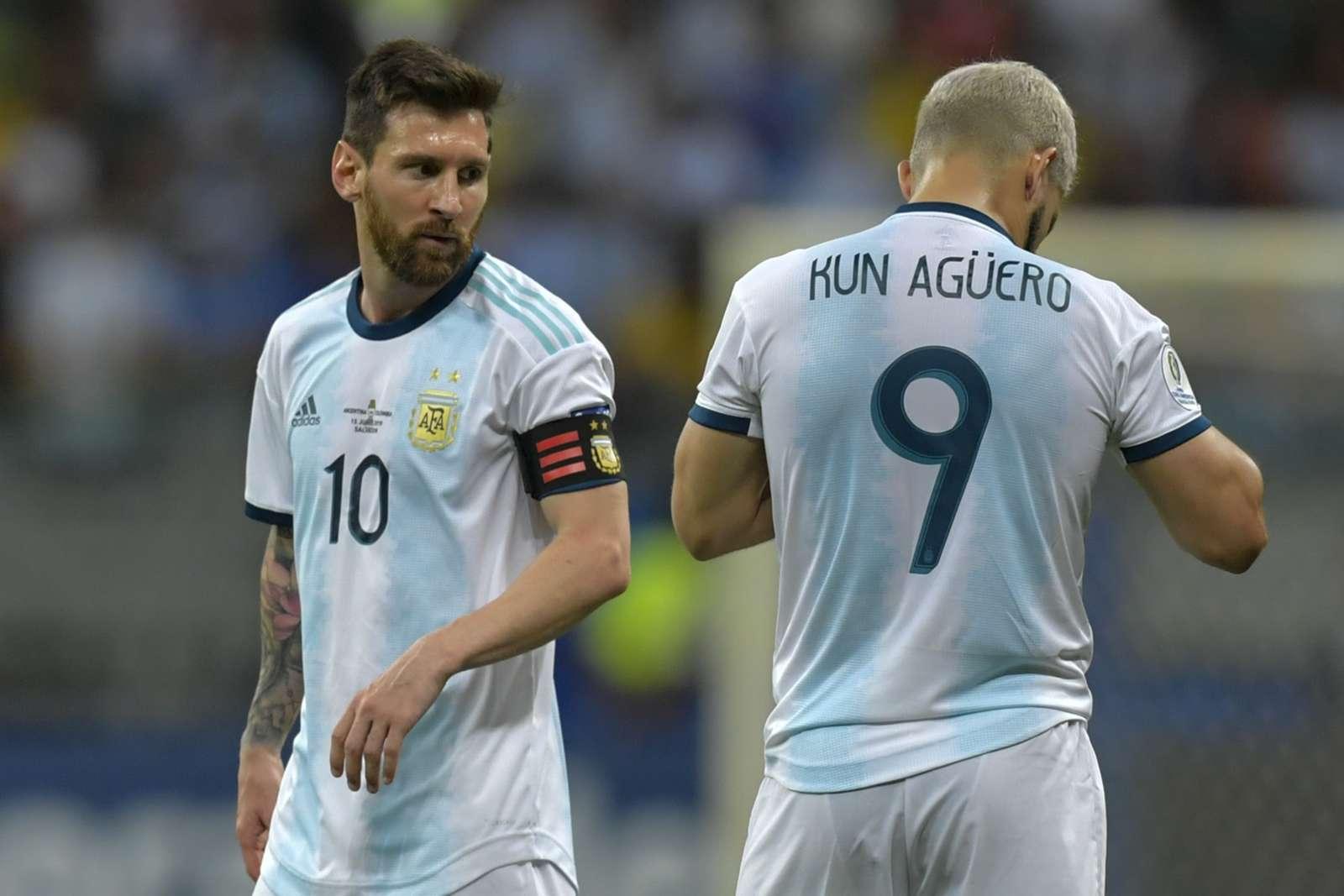 Sergio Aguero: Penuh Derita Di Argentina, Lionel Messi Tetap Jalan Terus