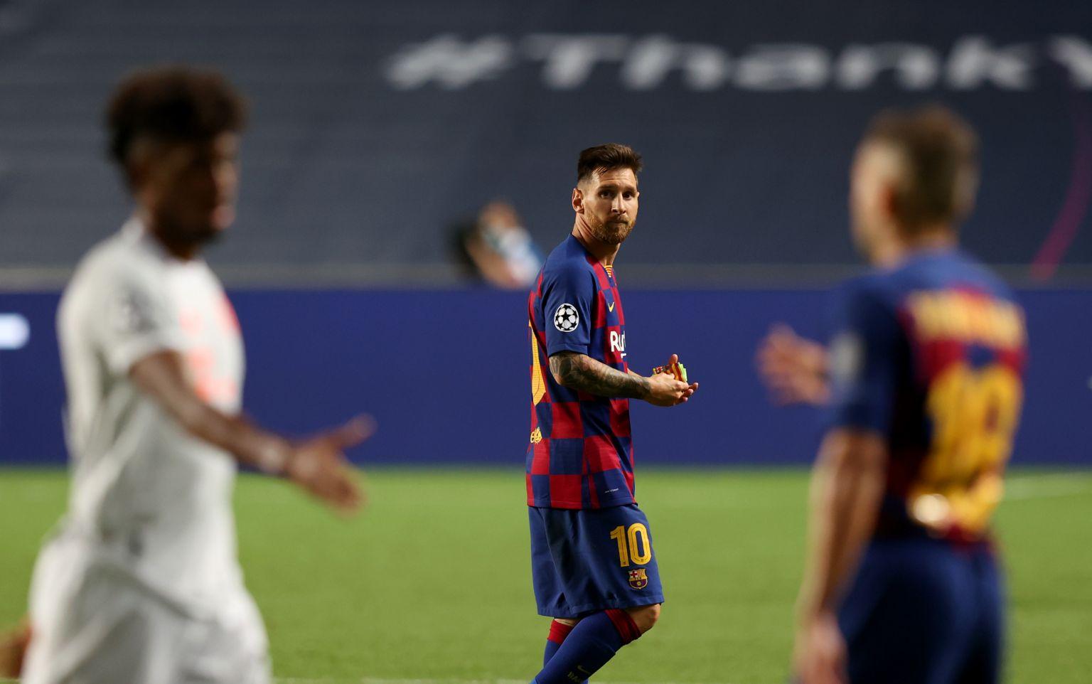 Messi Sudah Terlihat 'Aneh' Saat Dibantai Bayern Munich 2-8