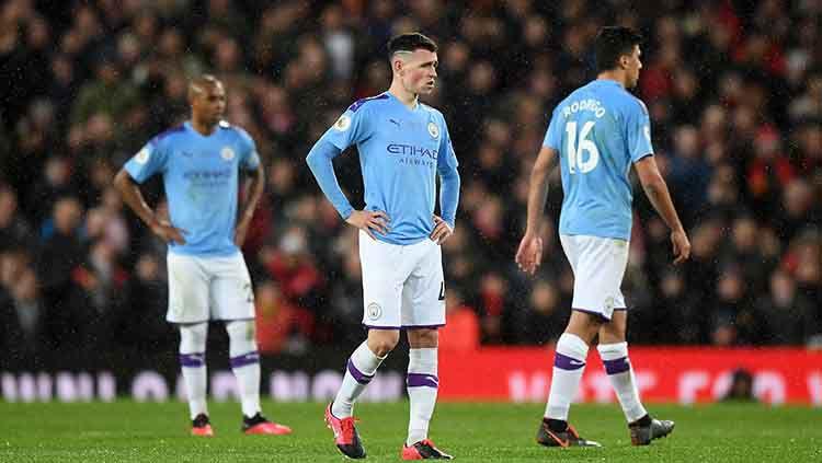 Terkena Sanksi Berlaga di Liga Champions, Man City Tak Takut Ditinggal Para Pemainnya