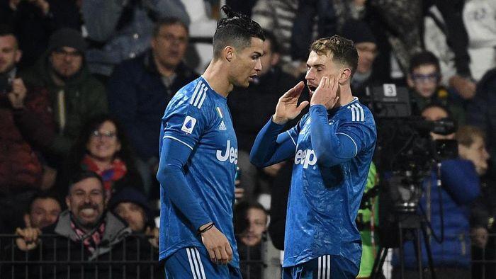 Keramahan Ronaldo Bikin Ramsey Langsung Nyaman di Juventus
