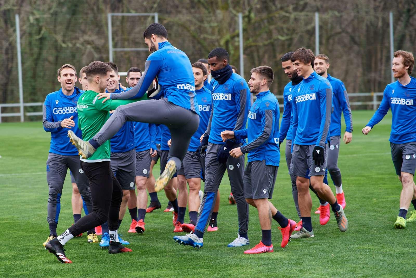 Real Sociedad Berencana Gelar Latihan Selasa Depan