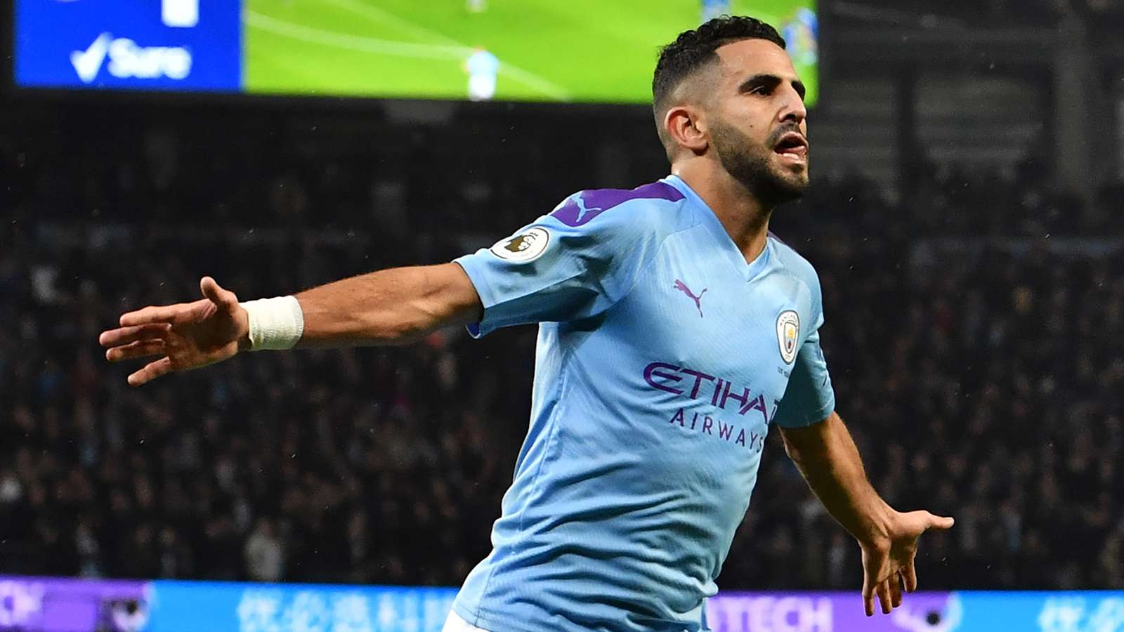 Real Madrid Saingi Paris Saint-Germain Dapatkan Riyad Mahrez