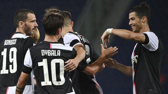 Langka! Cristiano Ronaldo dan Paulo Dybala Kompak Cetak Gol