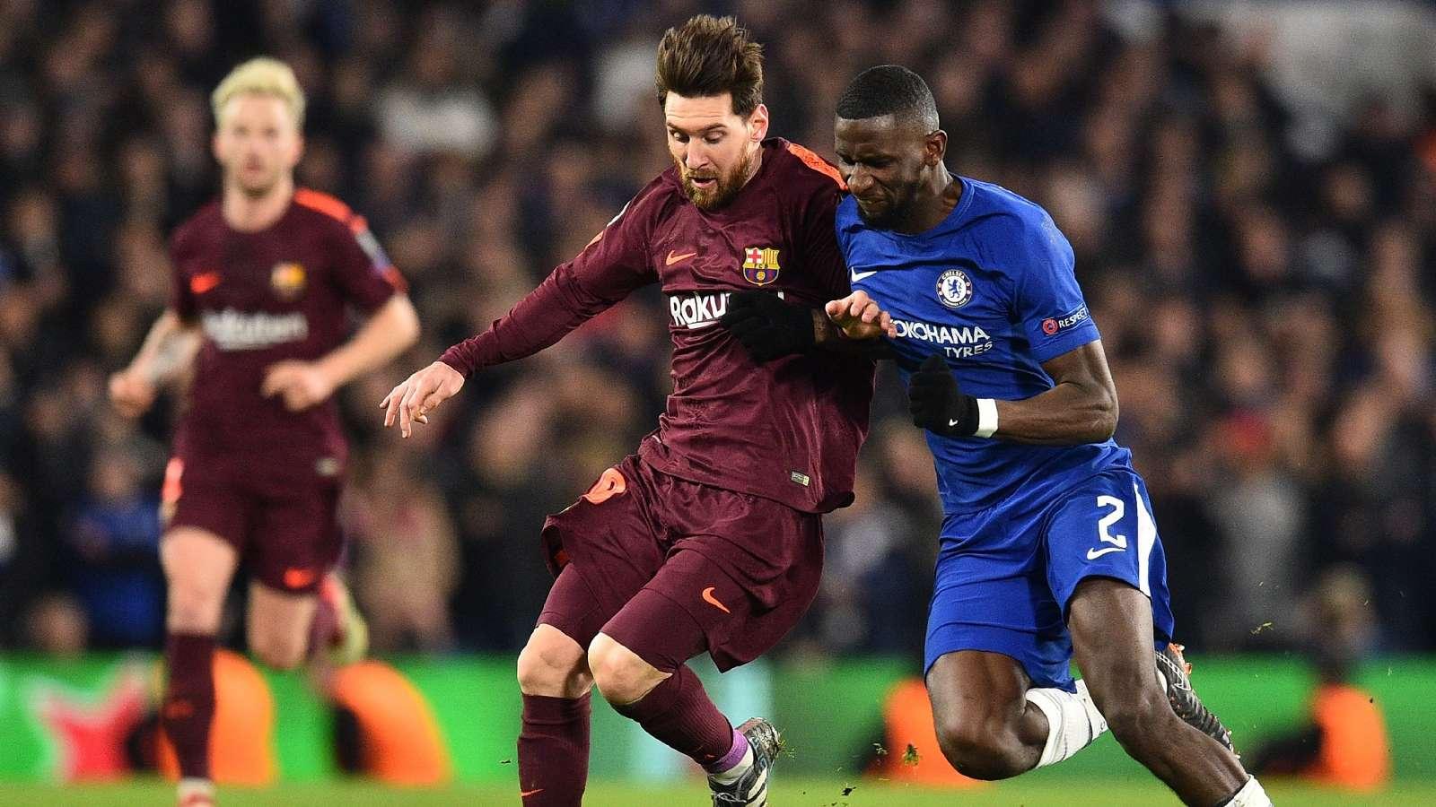 Cesc Fabregas Bantu Antonio Rudiger Dapatkan Jersey Lionel Messi