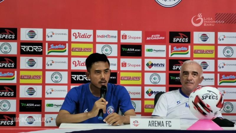 Taufik Hidayat Mau Arema FC Tak Remehkan PSIS Semarang